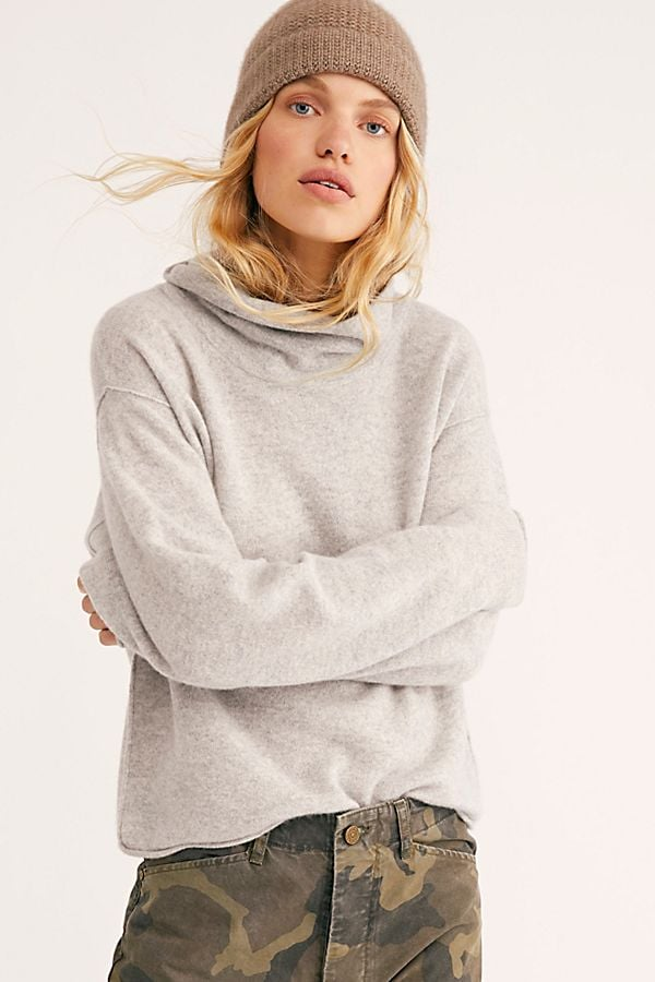 Free People Cosy Cashmere Turtleneck Sweater