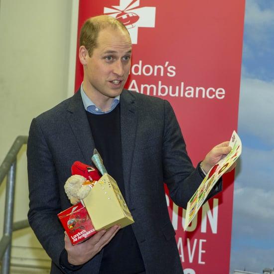 Prince William at the Royal London Hospital January 2019