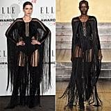 Bella Hadid Wearing Fall '16 Julien Macdonald