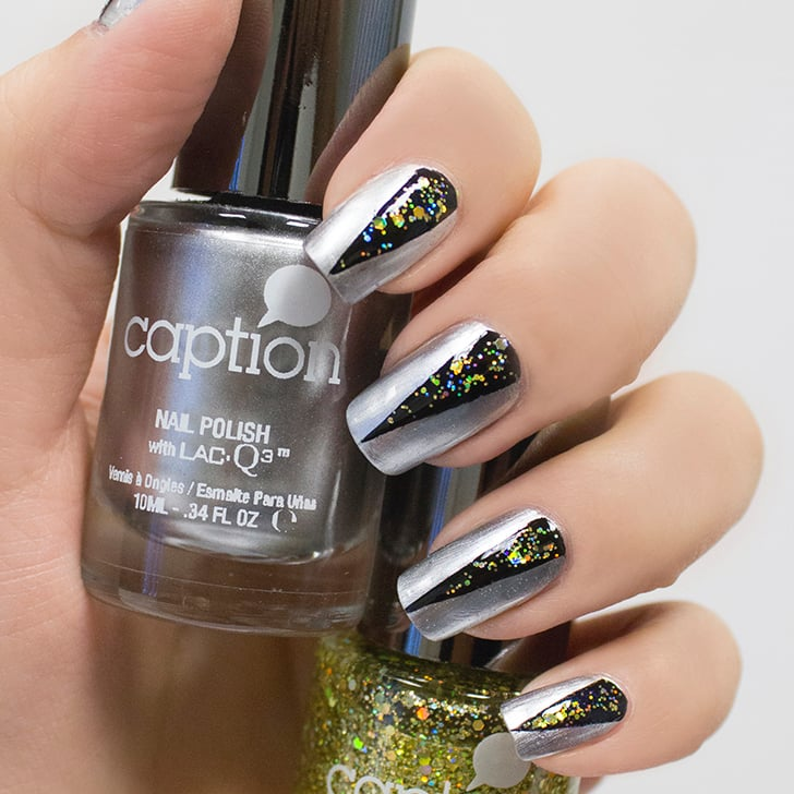 New Year\'s Eve Nail Art | POPSUGAR Beauty