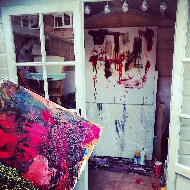Art sheds are perfect for painting, sewing, or being otherwise artistic.