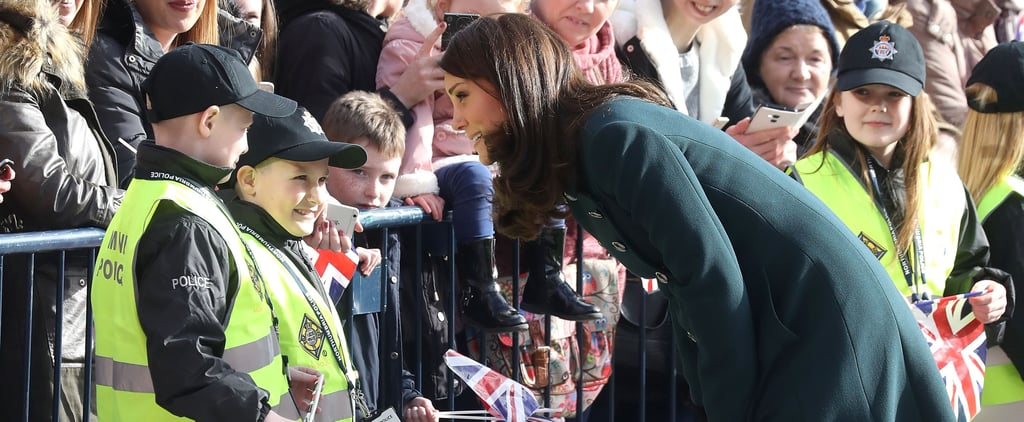 Kate Middleton Chatting to Mini Police Is the Cutest Thing You'll See All Day