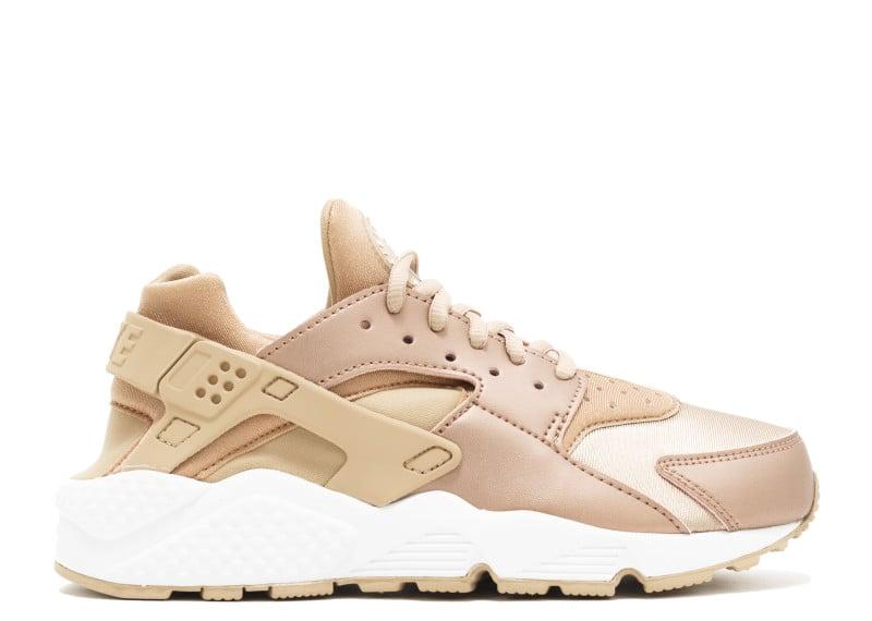 huarache gold sneakers