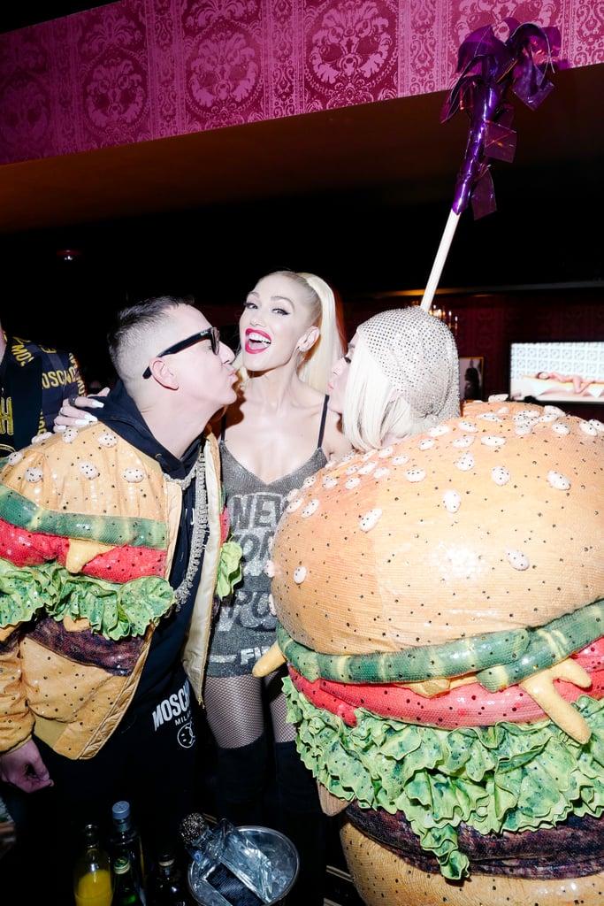 Jeremy Scott, Gwen Stefani, and Katy Perry