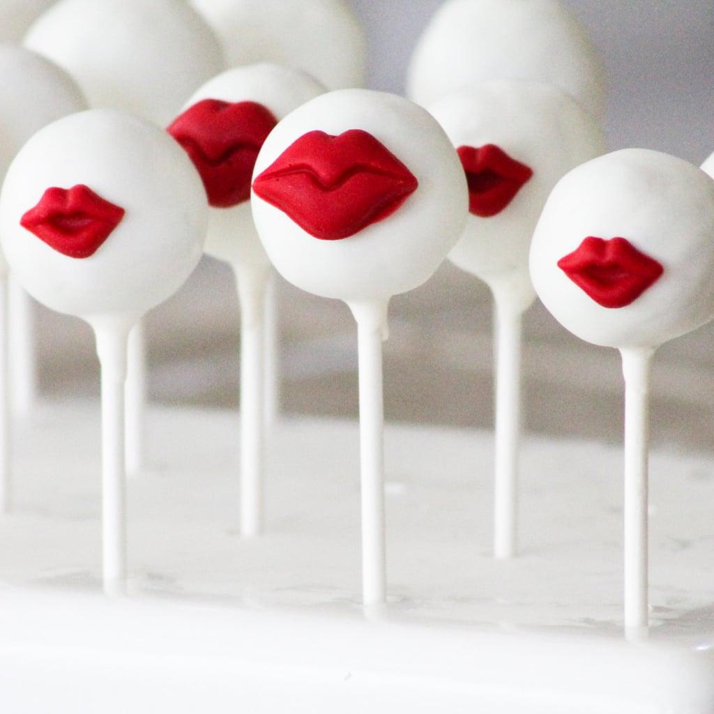 Plump Kissable Lip Cake Pops