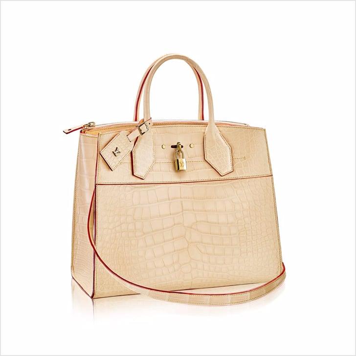 f37e6f9810 Louis Vuitton City Steamer MM Crocodile Bag ( 55