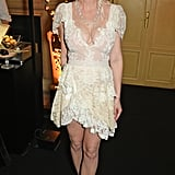 Kirsten in Her Christian Lacroix Dress at a Chopard Event in Paris, 13 Years Later