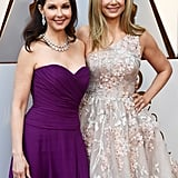 Pictured: Ashley Judd and Mira Sorvino