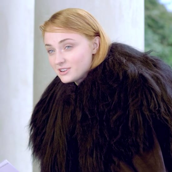 Sophie Turner Jon Snow Impression