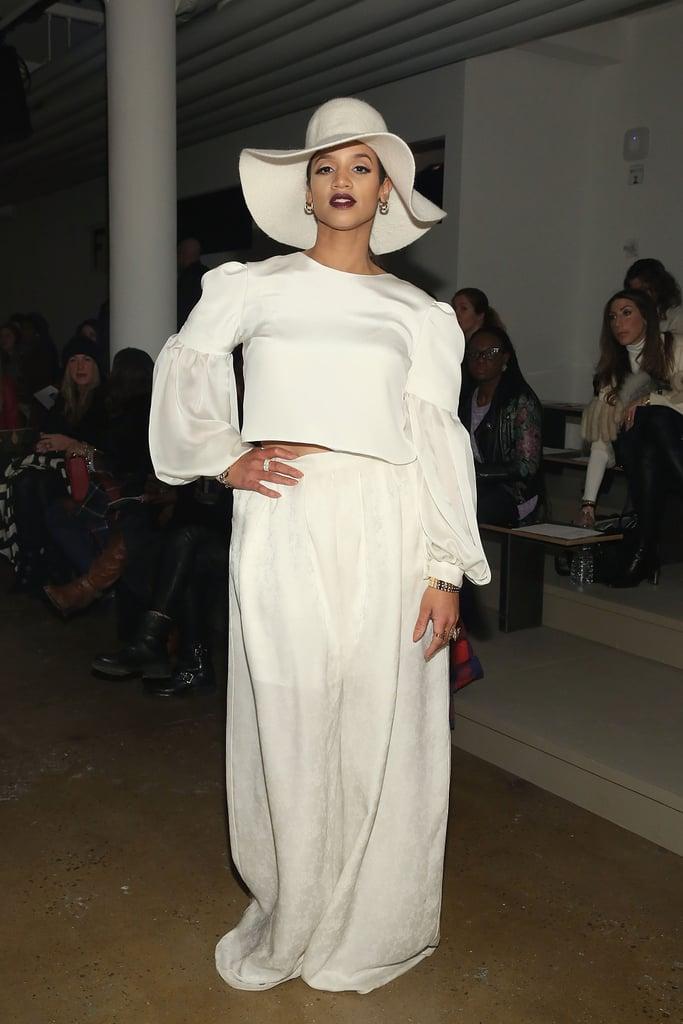 Dascha Polanco at NYFW