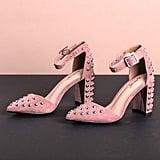 Dolicimo Pink Shimmer Heels
