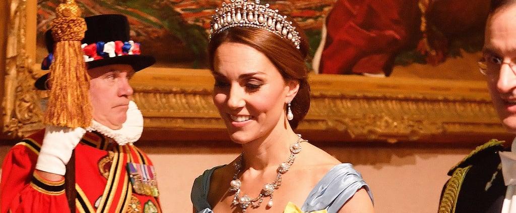 كيت ميدلتون ترتدي تاج الأميرة ديانا في شهر أكتوبر 2018