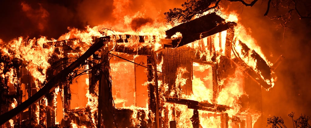 The Onslaught of Wildfires Ravaging California's Wine Country Right Now Is Truly Terrifying