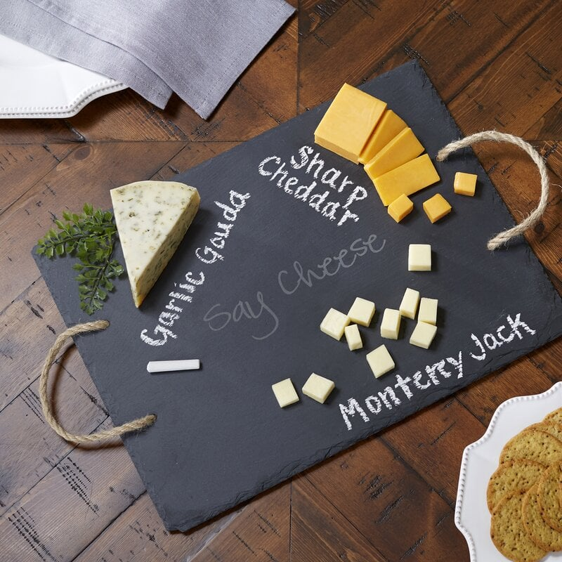 Nunnally Say 2-Piece Cheese Board and Platter Set