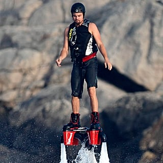 Leonardo DiCaprio Using a Flyboard in Spain | Pictures