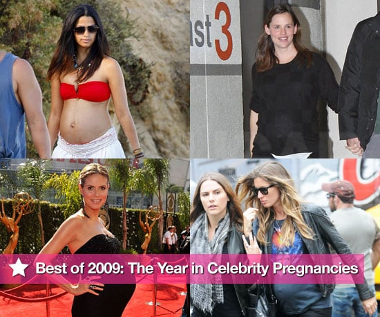 Photos of Pregnant Celebrities Heidi Klum, Camila Alves, Padma Lakshmi, Sarah Michelle Gellar, Nicole Richie, and More