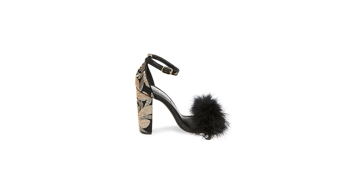 842007ce417 Steve Madden Carabu Sandals   Clothes With Feathers 2018   POPSUGAR ...