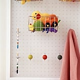 Transform Bathroom Storage With a Pegboard