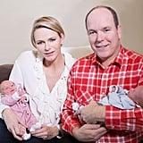 Prince Albert and Princess Charlene's Twins   Pictures