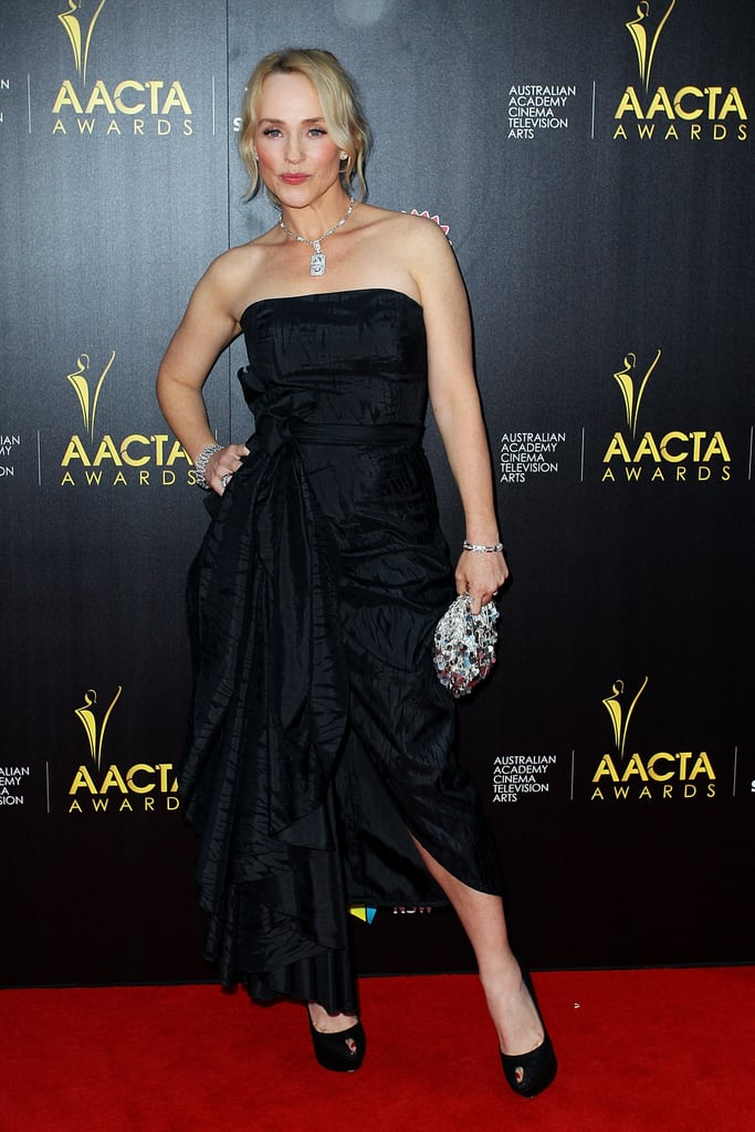 Susie Porter walked the red carpet.