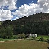 Village in Lungo, Spain