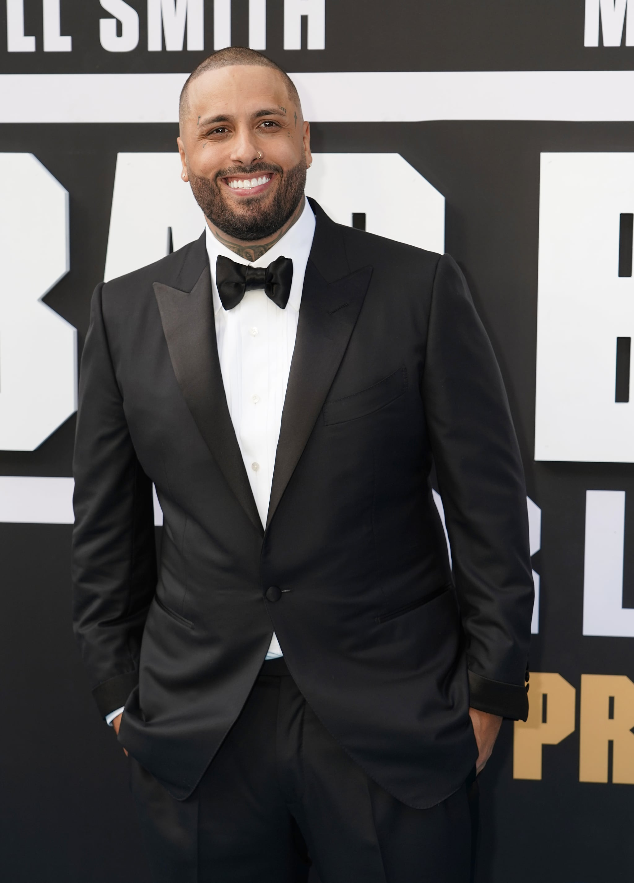 MIAMI, FLORIDA - JANUARY 12: Nicky Jam attends the Bad Boys For Life Miami Premiere at Regal South Beach on January 12, 2020 in Miami, Florida. (Photo by Alexander Tamargo/Getty Images for Sony Pictures Entertainment)