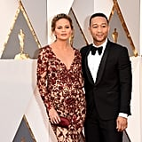 John Legend Kissed Chrissy Teigen at the Oscars, Reminded Us All Why We're Jealous