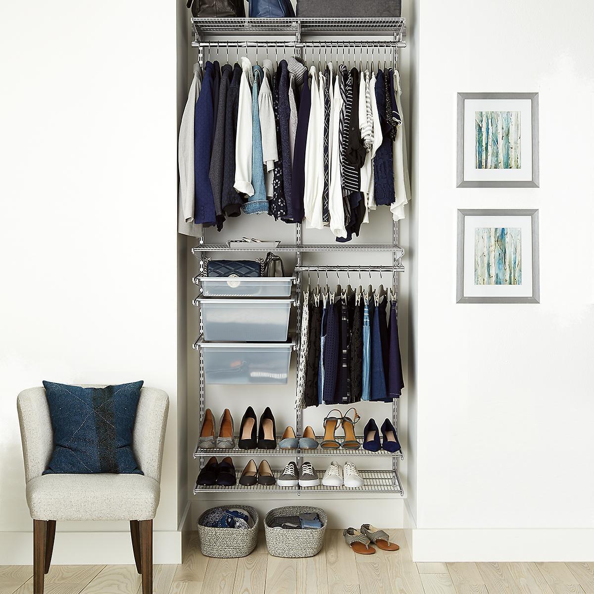 Platinum Elfa 3 Reach In Closet 11 Closet Organization