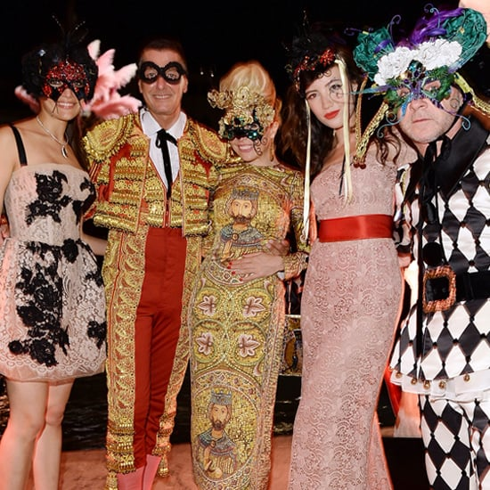 Dolce & Gabbana Throw a Lavish Masked Ball in Venice For the Fashion Flock