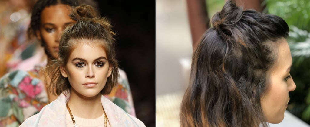Bob Haircut How To | Braided Top Knot Hairstyle