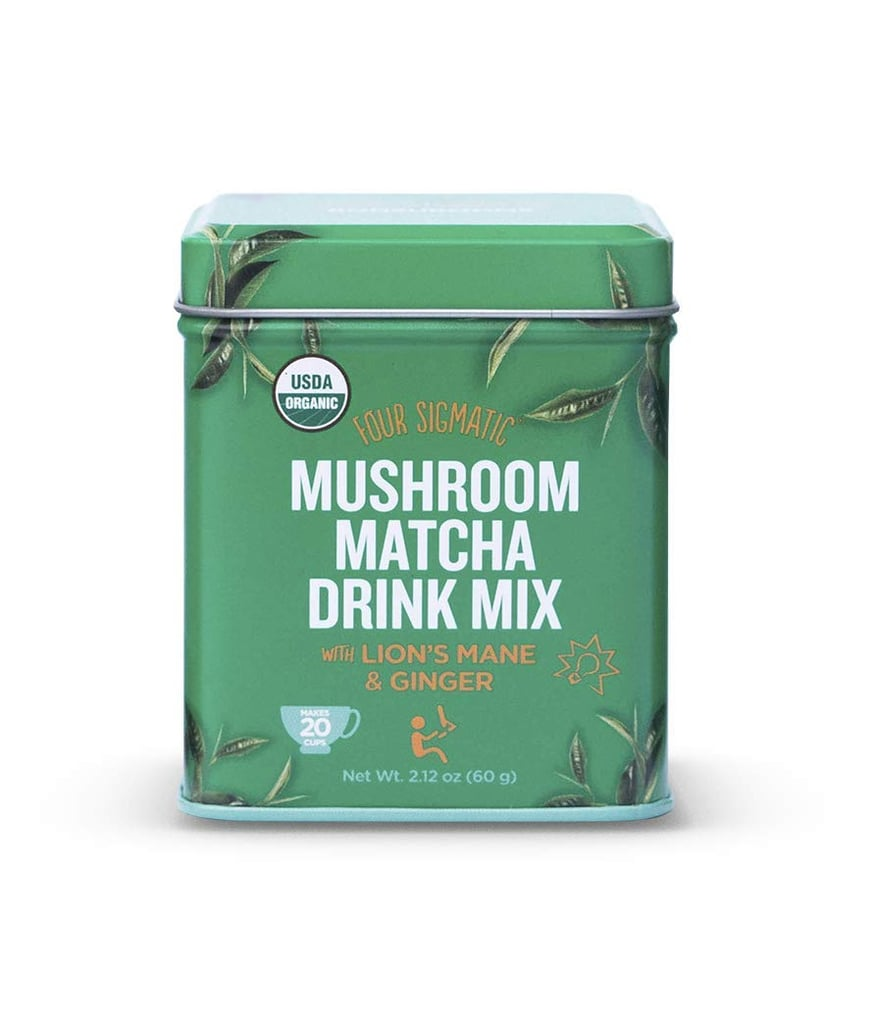 Four Sigmatic Organic Mushroom Matcha With Lion's Mane and Ginger