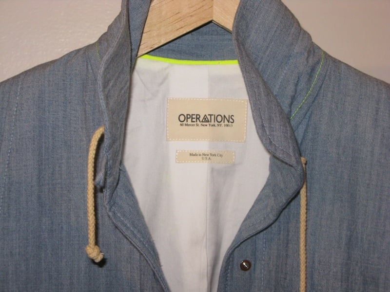In The Showroom: Operations Spring 09