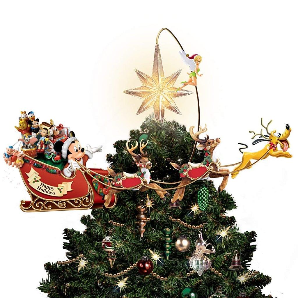Bradford Exchange Disney's Timeless Holiday Treasures Tree Topper
