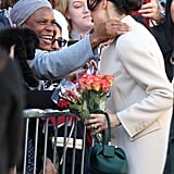 When Meghan Had a Special Moment With a Member of the Public