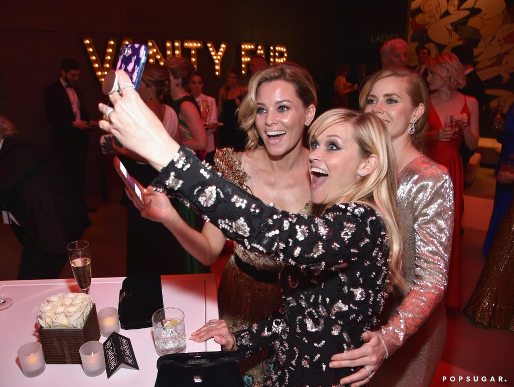 Pictured: Reese Witherspoon, Amy Adams, and Elizabeth Banks