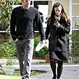 Pictures of Ben Affleck and Jennifer