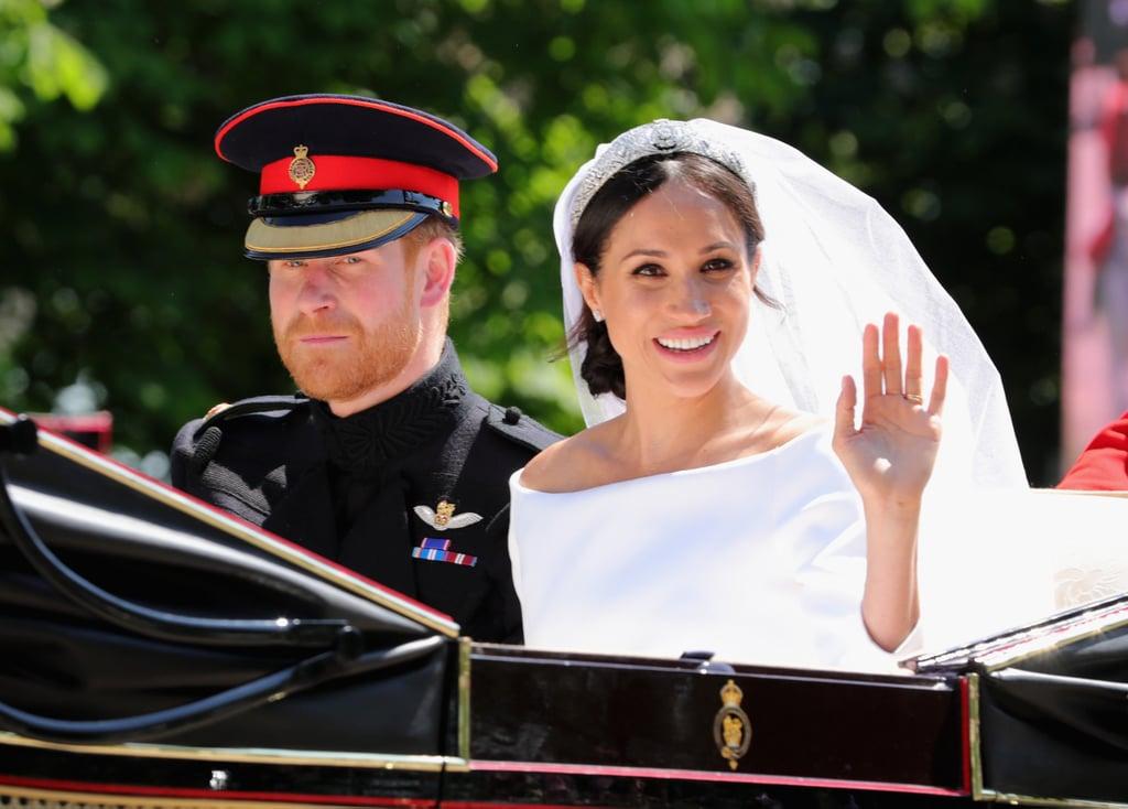 Meghan Markle's Royal Wedding Messy Bun 2018