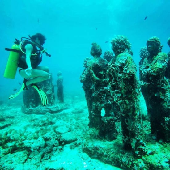 Underwater Art Museum in Cancun, Mexico