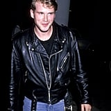 Cary Elwes at a Party Hosted by Mickey Rourke in 1989