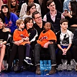 We're Still Not Over Mariska Hargitay and Peter Hermann's Family Night at the Knicks Game