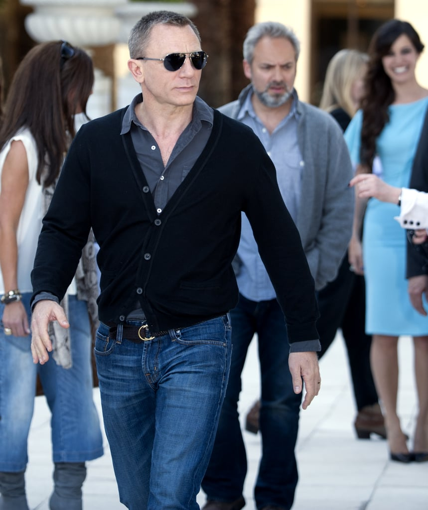 Daniel Craig arrived for a photocall to mark the filming of the 23rd Bond film in Istanbul.