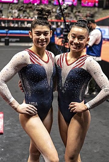 Leanne Wong, Kayla DiCello: 2021 World Gymnastics All-Around