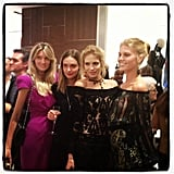 Supermodel Central at Ferragamo