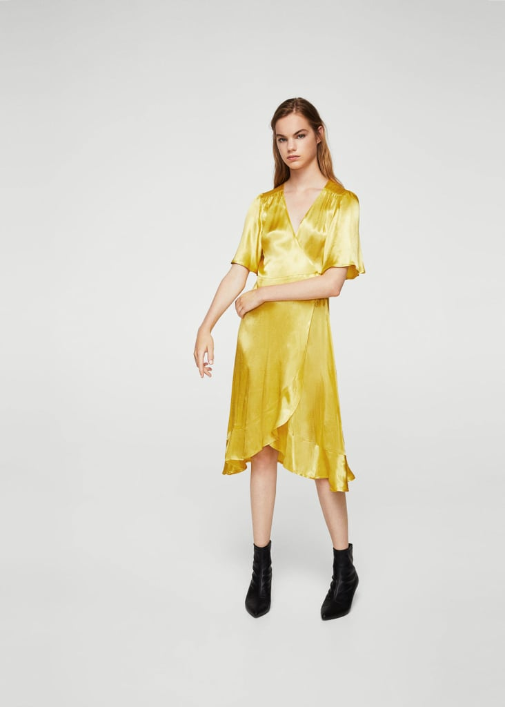 Mango Ruffle Wrap Dress (£50)