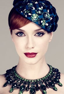 Gorgeous Christina Hendricks Pictures and Makeup Tutorial