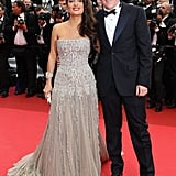 Salma Hayek in Gucci Premiere with Francois-Henri Pinault