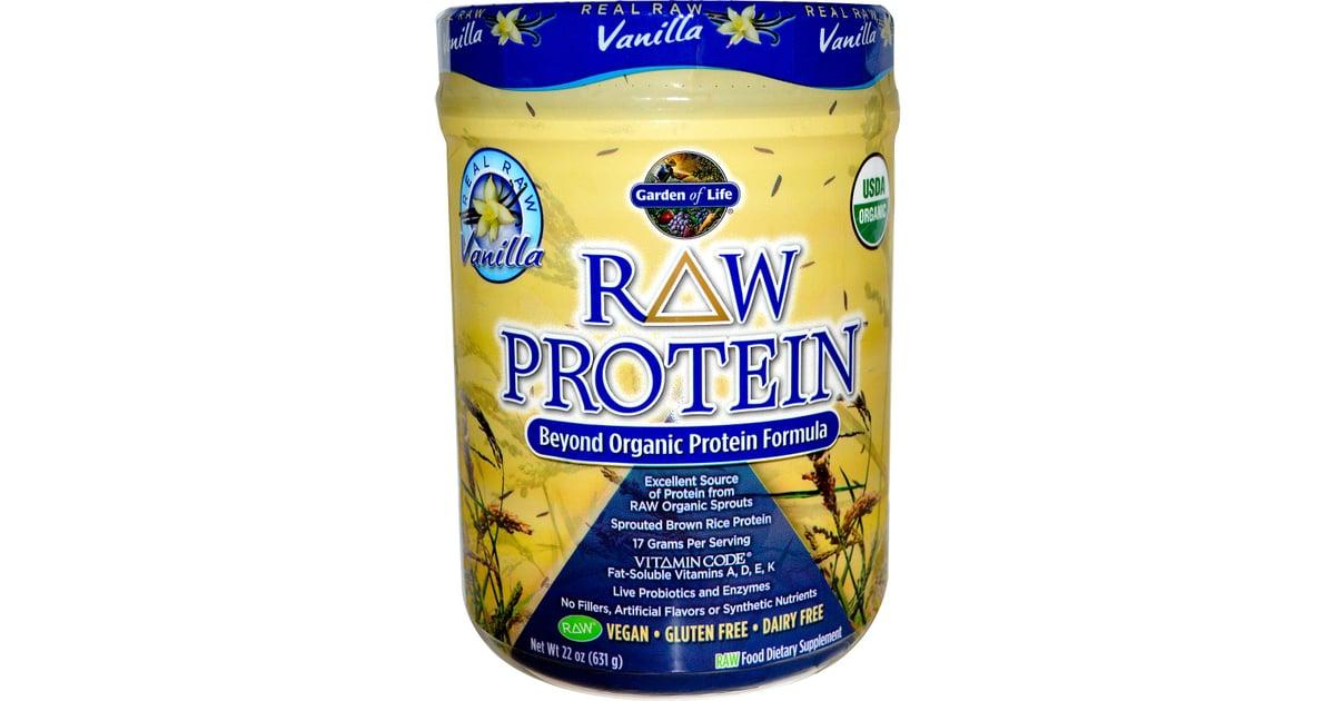 Garden Of Life Raw Protein Vanilla Plant Based Protein Powder Comparison Popsugar Fitness