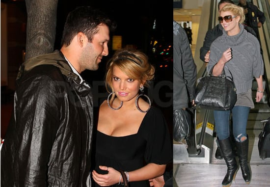 Photos of Jessica Simpson and Tony Romo in NYC