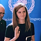 And Emma is already making waves in her new role as UN Women Global Goodwill Ambassador.