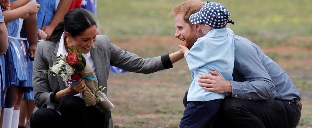 Prince Harry and Meghan Markle With Boy in Dubbo